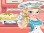 العاب طبخ اليسا مكرونة