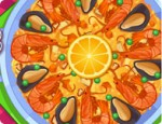 العاب طبخ البايلا الاسبانية