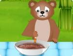 العاب طبخ الدب الظريف