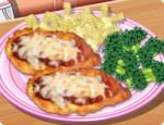 العاب طبخ طبق الفراخ والخضار