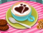 العاب طبخ رسم وش القهوة