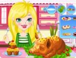 العاب طبخ وجبات الضيوف