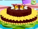 العاب طبخ كعكة الشوكليت الدارك
