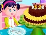 العاب طبخ كعكة الشيكولاتة الداكنة