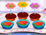 العاب طبخ كعكة الزهور
