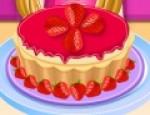 العاب طبخ تشيز كيك فراولة