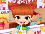 العاب تلبيس فتاة المثلجات