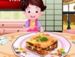 العاب طبخ لازنيا بالخضراوات