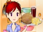 العاب طبخ سارة سندويش الدجاج المشوي