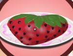 العاب طبخ كيكة الفراولة