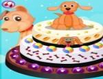 العاب طبخ كعكة الجرو