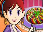 العاب طبخ سارة الفواكه الدائرية الملونة