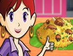 العاب طبخ سارة لحم الضان المقطع