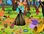 العاب تنظيف غابة الاميرة ارورا