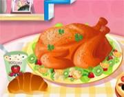 العاب طبخ فراخ روست تركي