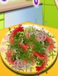 العاب طبخ سارة الجمبري بالفلفل و الثوم