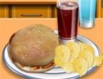 لعبة طبخ و تحضير ساندوشات الدجاج مع سارة