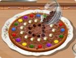 سارة وبيتزا الشوكولاتة