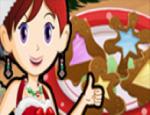 سارة و كوكيز عيد الميلاد
