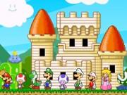 لعبة ماريو الدفاع عن القلعة