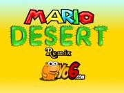 لعبة ماريو في الصحراء